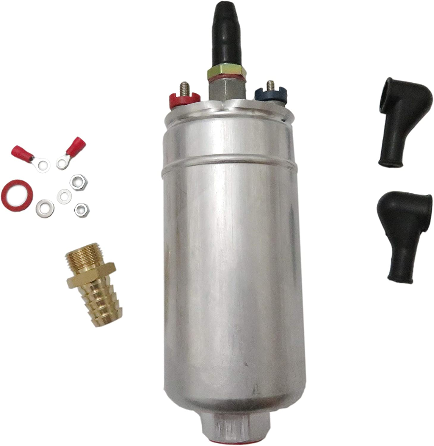 300LPH Universal External Inline Fuel Pump Replacing For Bosch 044 0580254044