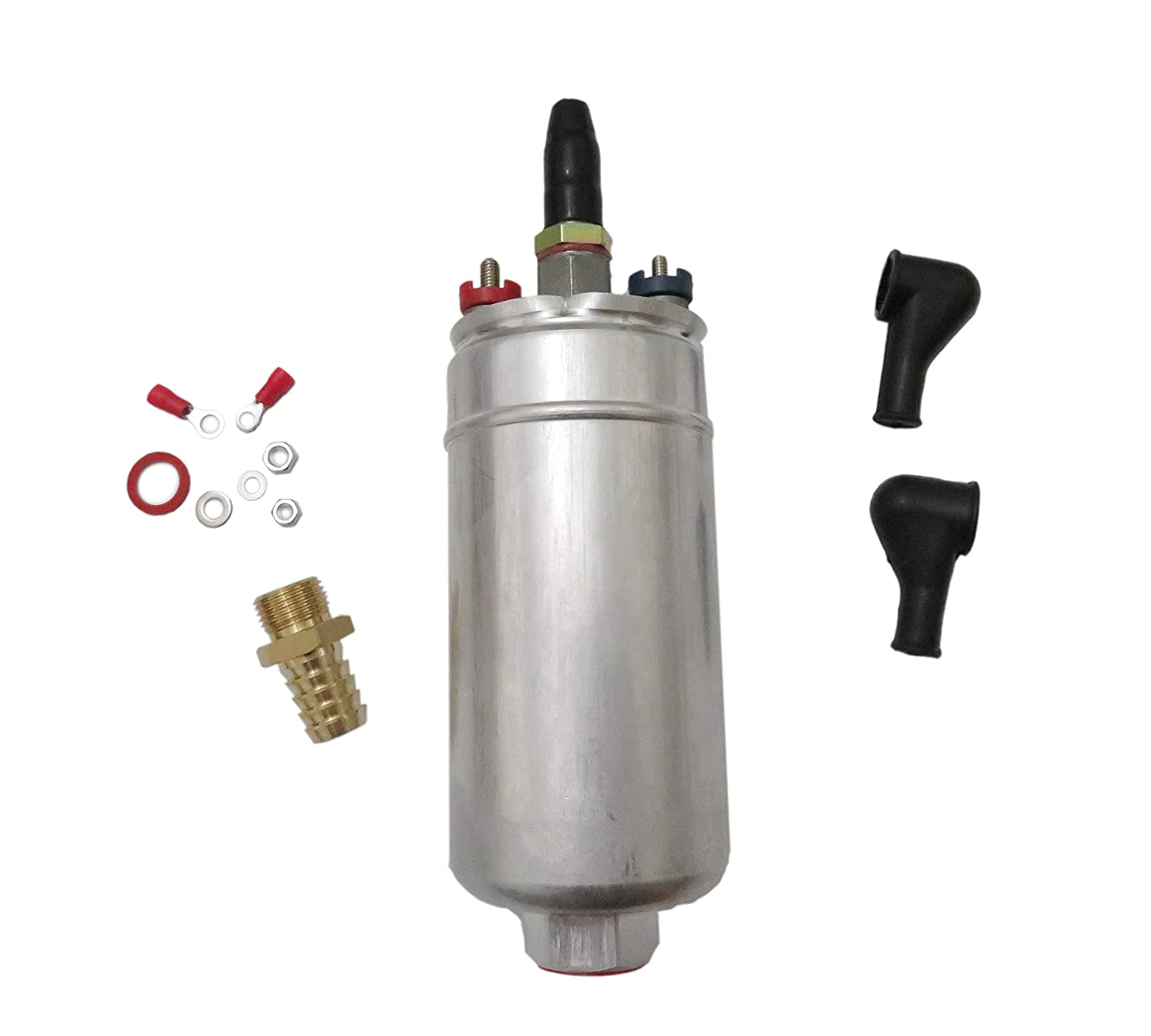 External Inline Fuel Pump For Bosch 044 0580254044 300LPH Universal
