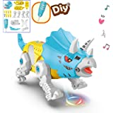 amdohai DIY Toy Electronic Robot Dinosaur Building Toys for Girls Age 3 4 5 6 7 8 Year Old Boys, Gifts Idea for Kids