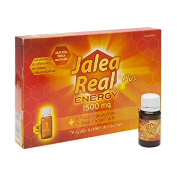 Juanola Royal Jelly Energy Plus 14 Vials x 10ml - Natural Components - Gluten-Free