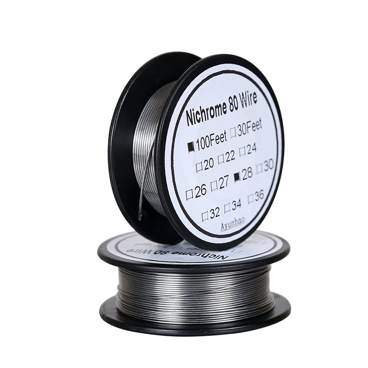 Nichrome 80 wire 24 Gauge AWG Stainless Steel Resistance Wire 0.51 ...