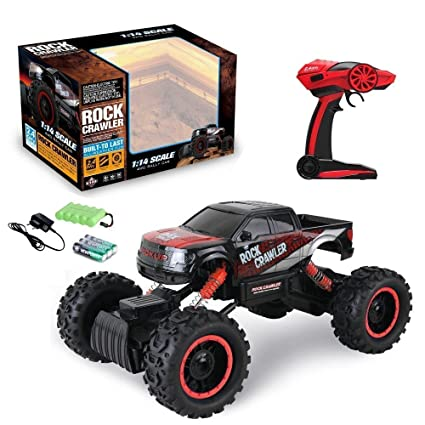 Buy kris toy big monster truck with big wheels of rock crawler red kris toy big monster truck with big wheels of rock crawler red publicscrutiny Images