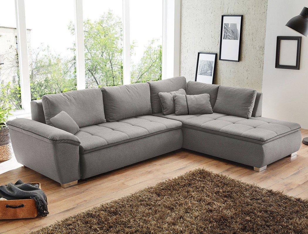 Künstlerisch Sofa Wohnzimmer Das Beste Von Wohnlandschaft Corvin 280x210 Cm Grau Funktionssofa Eckcouch
