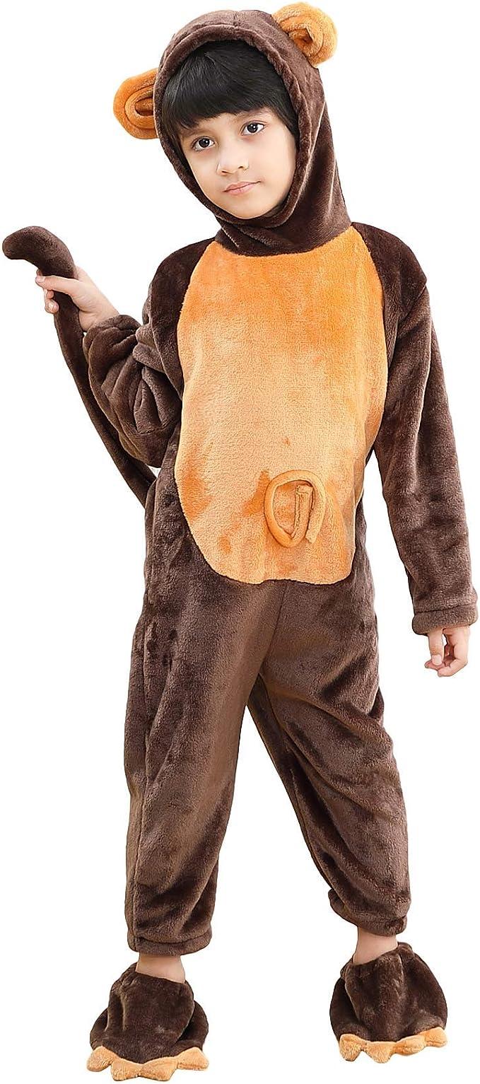Disfraz de Animal Unisex para niño Disfraz De Pijama De Franela ...