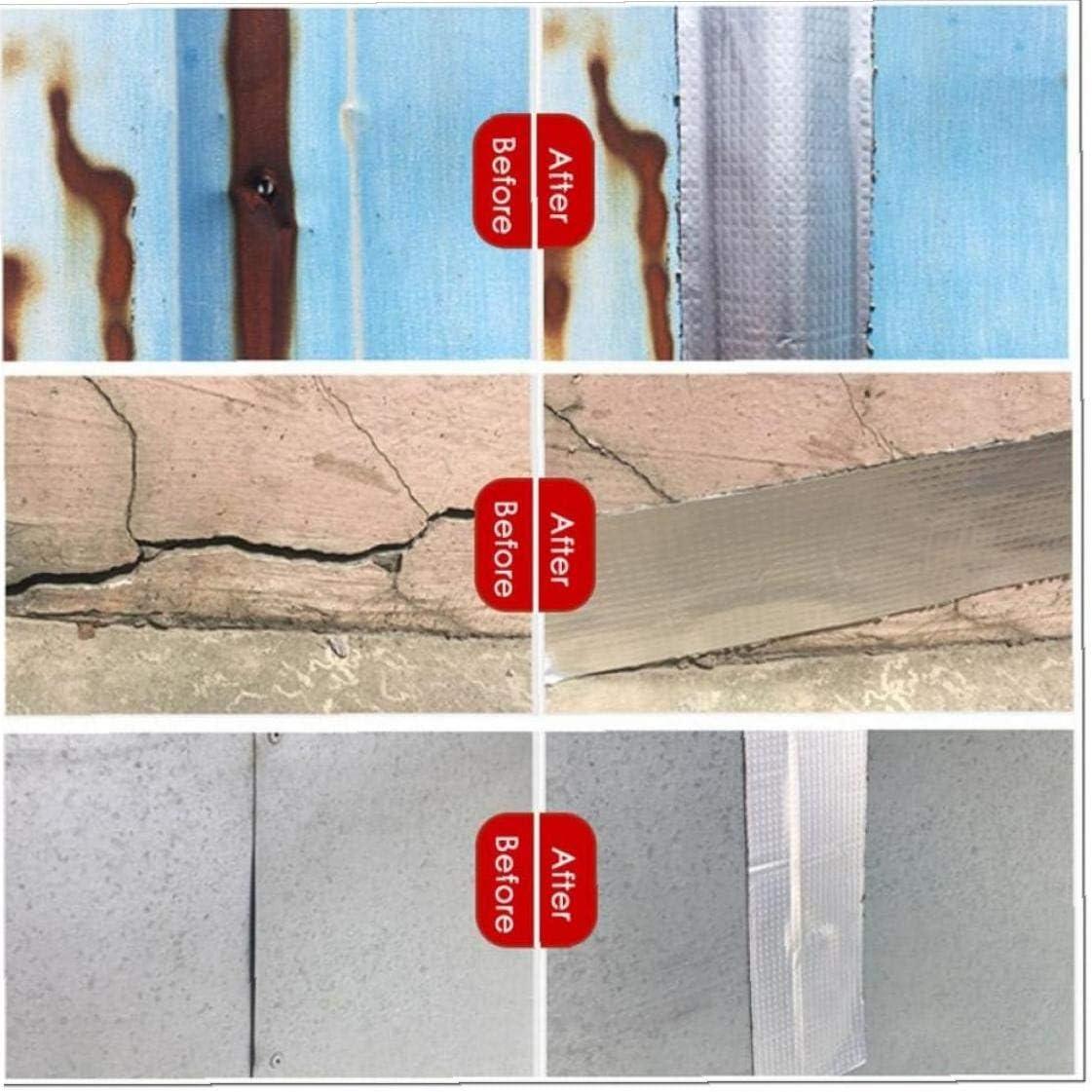 Aluminum Foil Adhesive Tape Waterproof Duct Tape Super Repair Crack Thicken Butyl Waterproof Tape Home Renovation Tools