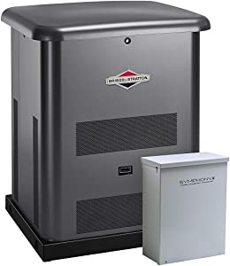 Briggs & Stratton 40442 8000-watt Home Standby Generator System with 50-Amp Automatic Transfer Switch