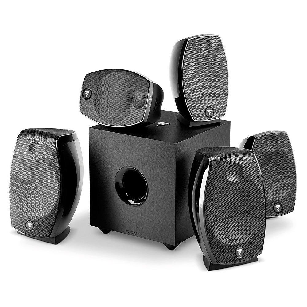 Focal - SIB Evo Dolby Atmos 5.1.2, home cinema speakers system (black - set of one) Sib Evo Dobly Atmos 5.1.2