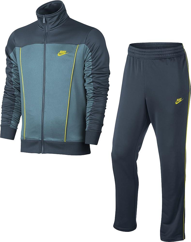 Nike M NSW TRK Suit PK Pacific Chándal, Hombre, Azul (Squadron ...