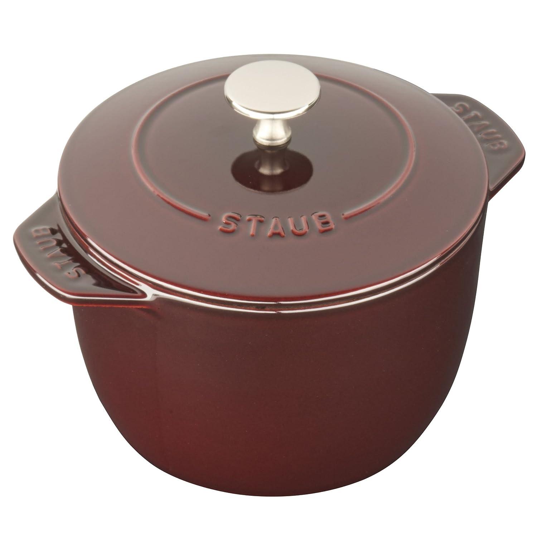 Staub Cast Iron 1.5-qt Petite French Oven - Grenadine