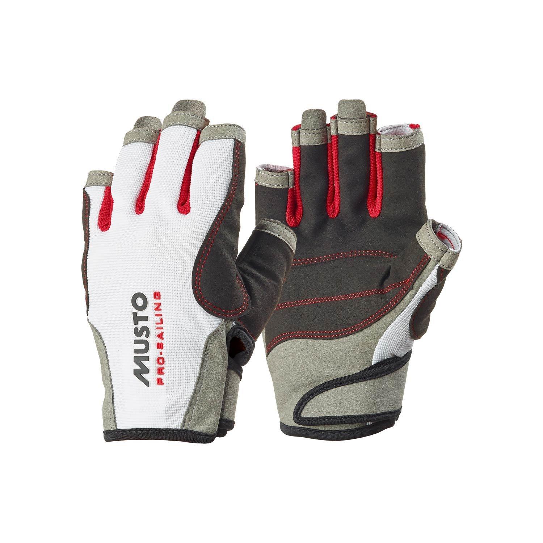 Musto Essential Sailing Short Finger Gloves BLACK AS0813 MU-AS0813