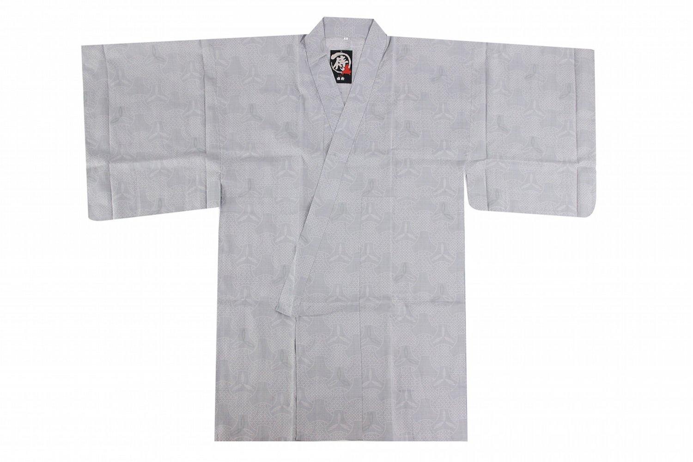 Edoten Japanese Samurai Hakama Uniform Shirt TOPS-3B Gray M