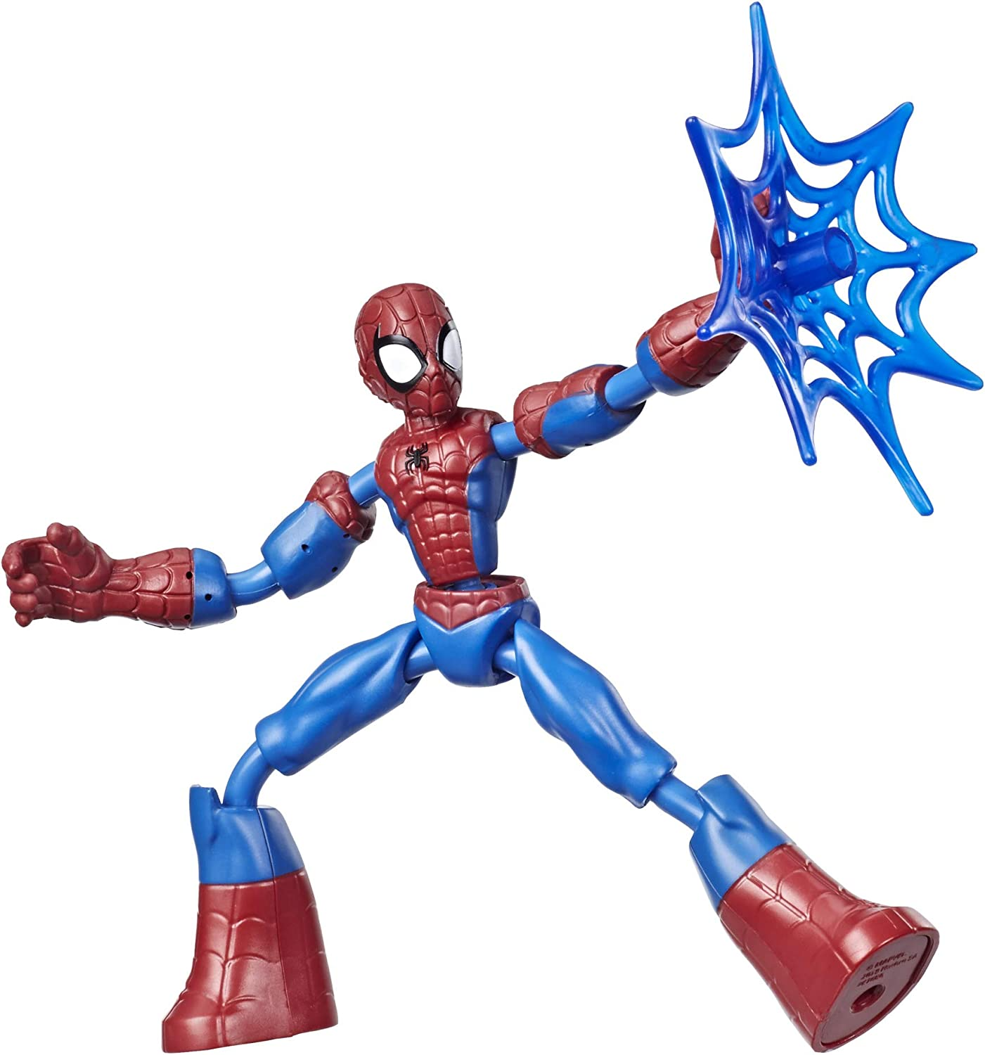 Spider-Man- Bend And Flex Figura 15 cm (Hasbro E76865X0) , color/modelo surtido