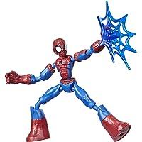 Marvel Spider-Man Bend and Flex Spider-Man actiefiguur, flexibele figuur van 15 cm, met webaccessoire, voor kinderen…