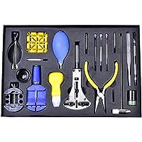 Orologio Tool kit di riparazione professionale–Watch Band pin di collegamento della rimozione orologio Opener Spring Bar Tools con custodia (pezzi)