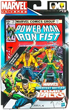 Marvel Universe Greatest Battles 2 Figure Pack: Power Man & Iron ...