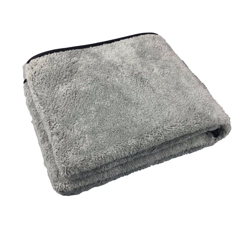 EastElegant Microfiber Ultra Soft Pet Towel Super Absorbent Dog Drying Towel 16 x 39 Inch Grey