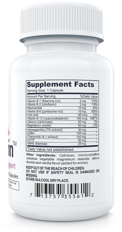 Vitamin Supplements Anxiety