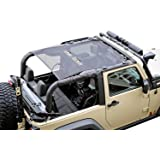 Rugged Ridge 13579.06 Black Eclipse Sun Shade for Select Jeep Wrangler JK Models