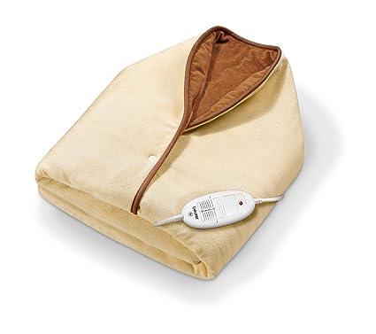 Beurer HD 50 - Capa/manta de tacto suave, color crema