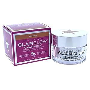 Glamglow Glow Starter Mega Illuminating Moisturizer, Sun Glow, 1.7 Ounce