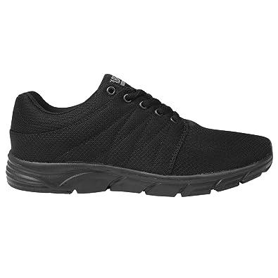 Fabric Reup Runner Herren Turnschuhe Schnuer Sportschuhe Leicht Sneaker Black/Black 7 (41) JeNSQMx