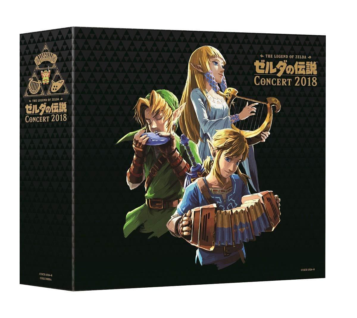 Legend Of Zelda Concert 2018 (Limited Edition) (Original Soundtrack) by Columbia Japan