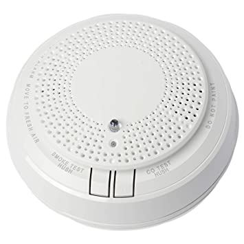 5800COMBO Wireless Combination Photoelectric Smoke/Carbon Monoxide (CO) Detector for use with Honeywells 5800 Series