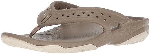 d5bfc60cfe7dc crocs Men s Swiftwater Deck M Flip-Flops  Buy Online at Low Prices ...