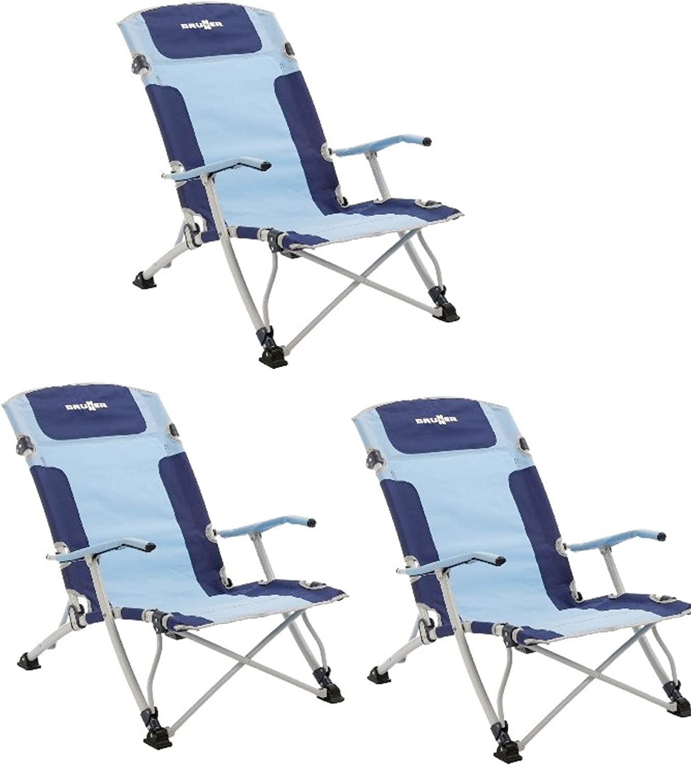 CHAISES BASSE CAMPING - Chaise de plage Brunner Camping Bula XL