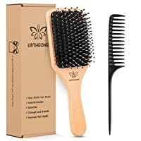 Deals on Hair Brush Boar Bristle Hairbrush