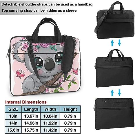 Cute Cartoon Penguins Laptop Case 13//15 Briefcase Handbag Carrying Sleeve Case Cover