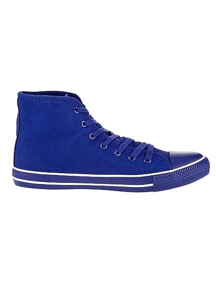 Sneakers blu con stringhe per uomo Oodji Ultra QnLJH054Kq