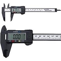 OCGIG Digital Calibre Eléctrico Negro Caiper Vernie 0-16