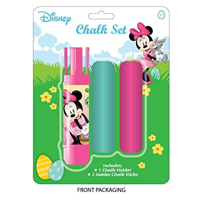 Licensed Children's Sidewalk Chalk set (Minnie Mouse): Office Products