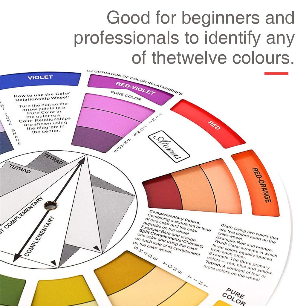 Tattoo Pigment Chart Supplies for Paint Permanent Eyebrow Lip Body Tattoo Dailymall Color Wheel Color Mix Guide