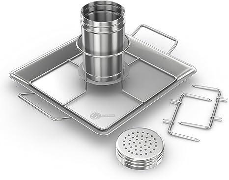 Cuisine beercan Poulet Grill Wire Rack Cookware rôtissoires BBQ Rôtissoire fours