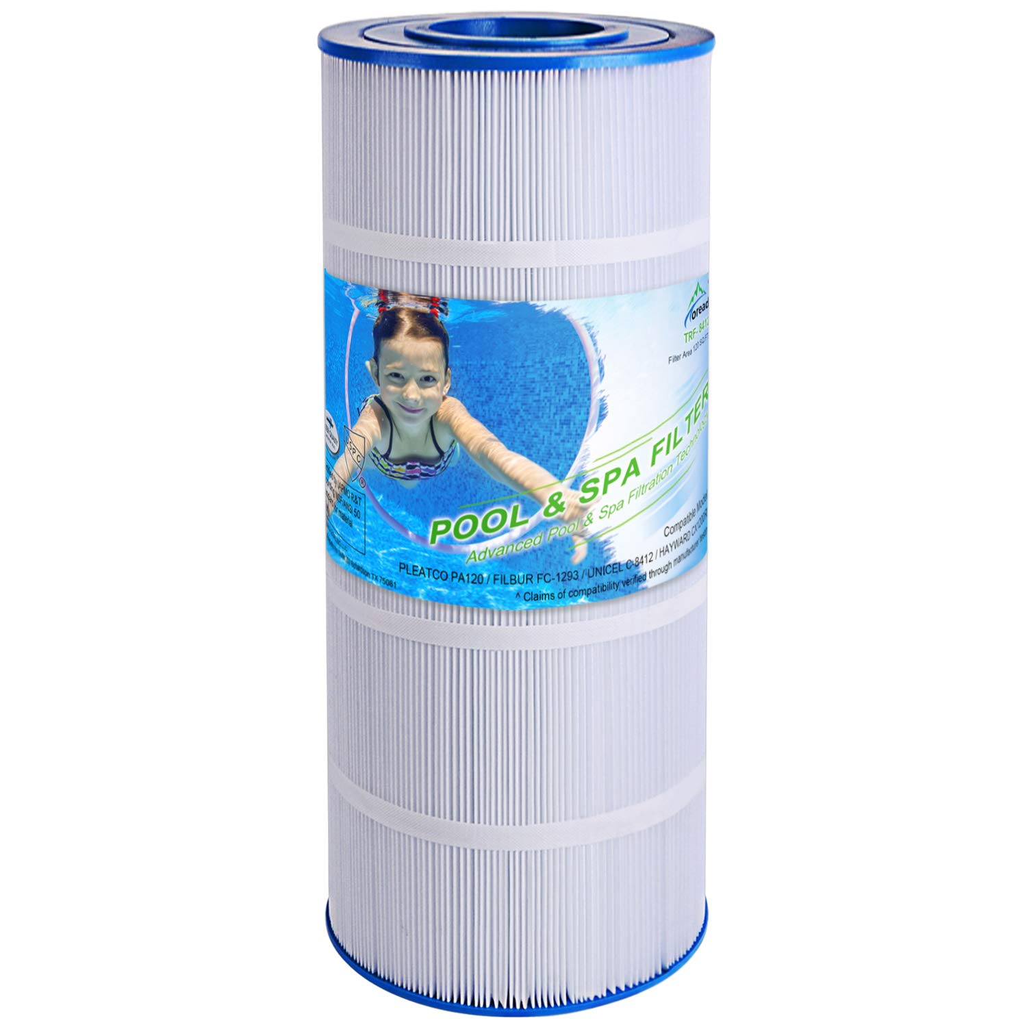 Pleatco PA120 for Hayward Star Clear Filter C-1200 Unicel C-8412 Pool Cartridge
