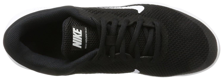 buy popular 4ce57 598ff Nike Girls Air Max Advantage Gs Gymnastics Shoes Amazon.co.uk Shoes   Bags