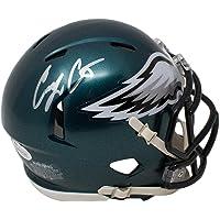 $89 » Corey Clement Philadelphia Eagles Signed Autograph Mini Helmet Helmet JSA Witnessed Certified