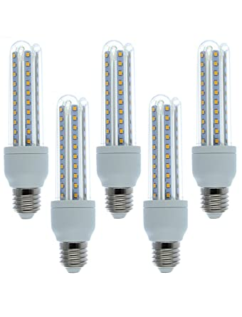 Ampoule-led - Lote de 5 bombillas LED E27 (12W=100W)