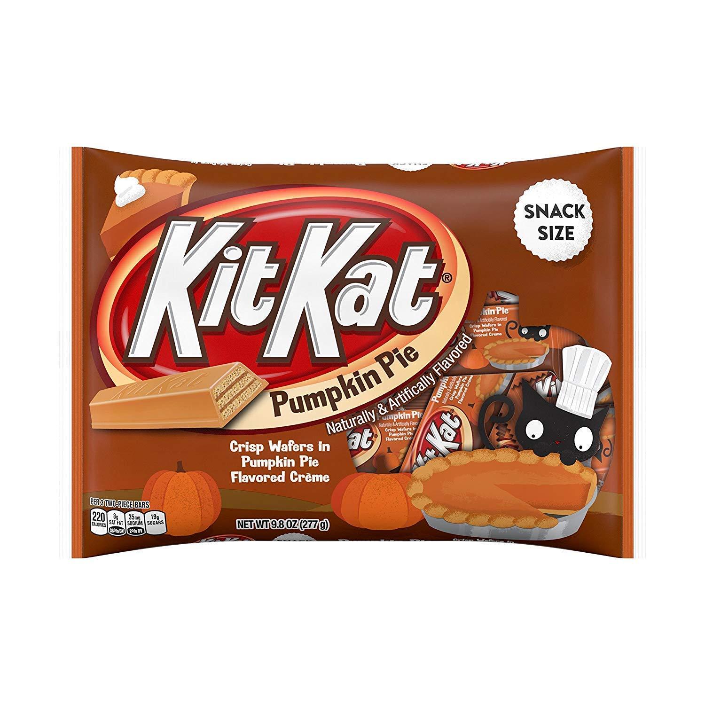KitKat Pumpkin Pie Snack Size Crisp Wafers 9.8oz (Single Pack) by Kit Kat