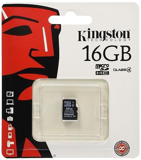 Kingston SDC4/16 GBSP microSD High Capacity (microSDHC) 16 GB SDC4/16GBSP