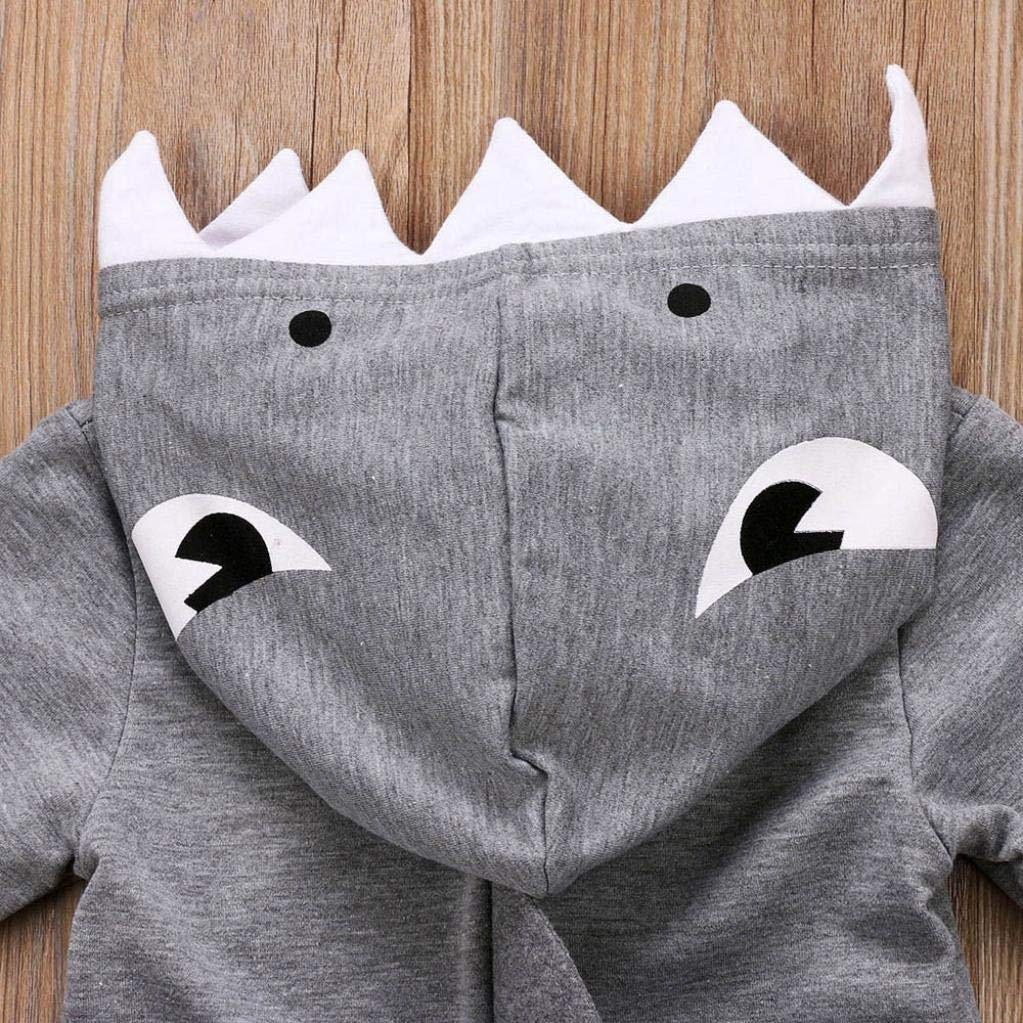 ❤️ Modaworld Monos de Mameluco con Capucha de Dibujos Animados de Manga Larga para Beb/és Reci/én Nacidos ni/ñas ni/ños Capa Chaqueta Gruesa Ropa de Abrigo Outwear