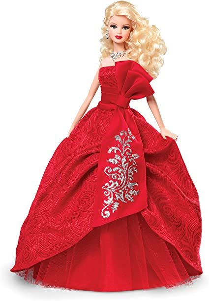 A Beauty in Red with Red Glittered Details Made to Fit the Barbie Doll