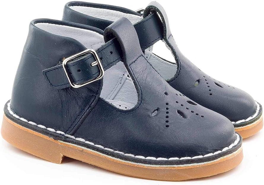 Boni Classic Shoes Salom/é en Cuir /à Boucles /étoile Mini Henry