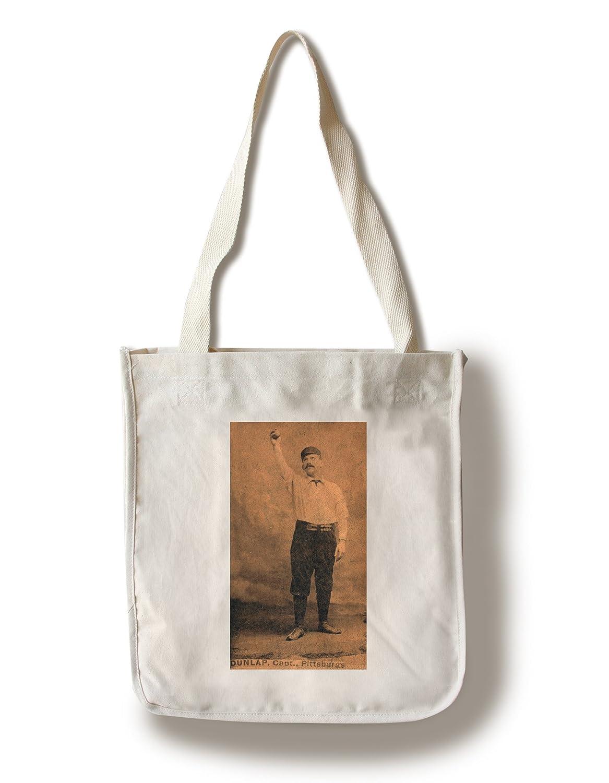 ピッツバーグパイレーツ – Fred Dunlap – 野球カード Canvas Tote Bag LANT-22989-TT B0187ZW80Y  Canvas Tote Bag
