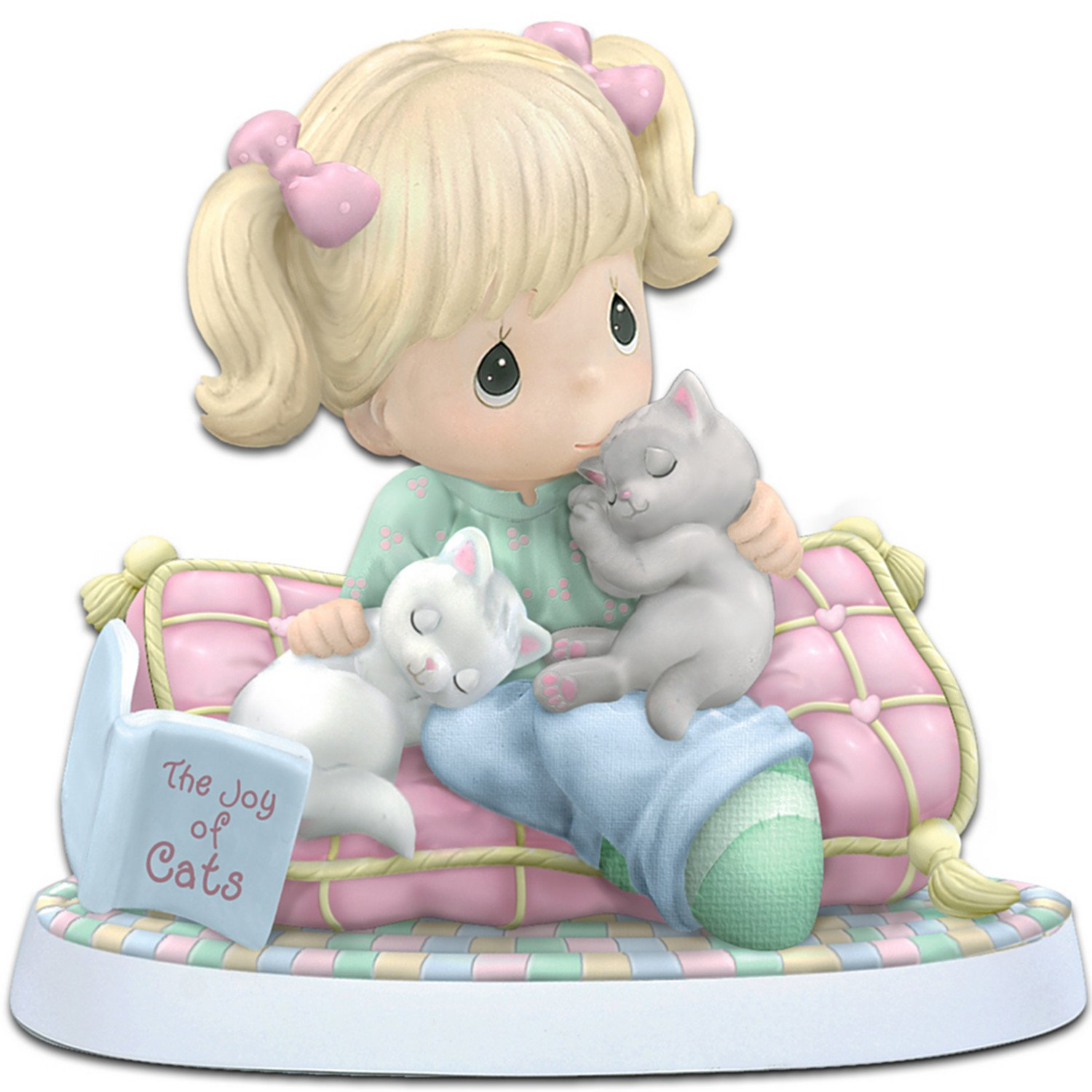 Amazoncom Precious Moments Home Is Where My Cats Are Figurine