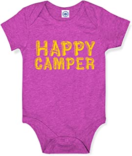 product image for Hank Player U.S.A. Happy Camper Baby Onesie