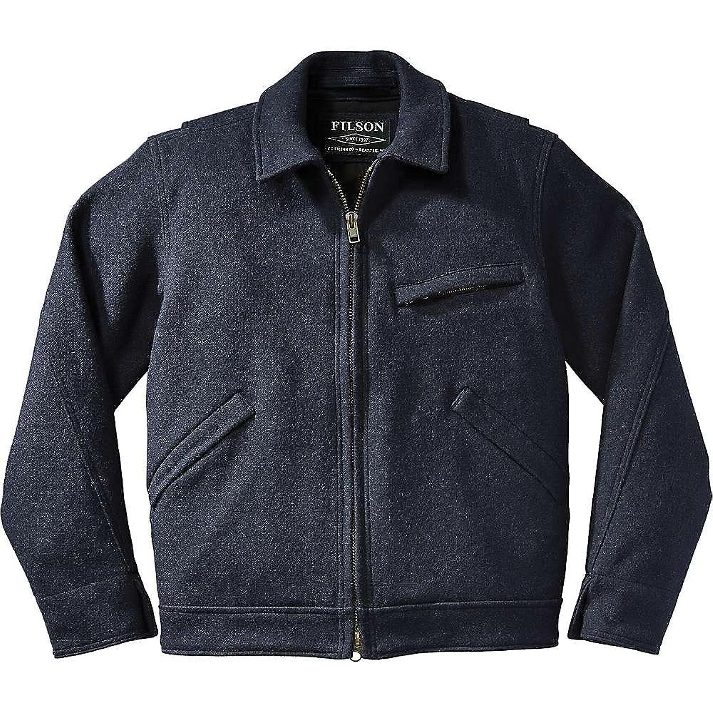 フィルソン アウター ジャケットブルゾン Filson Men's Mackinaw Work Jacket Navy 1vc [並行輸入品] B0793RLRDN  XL