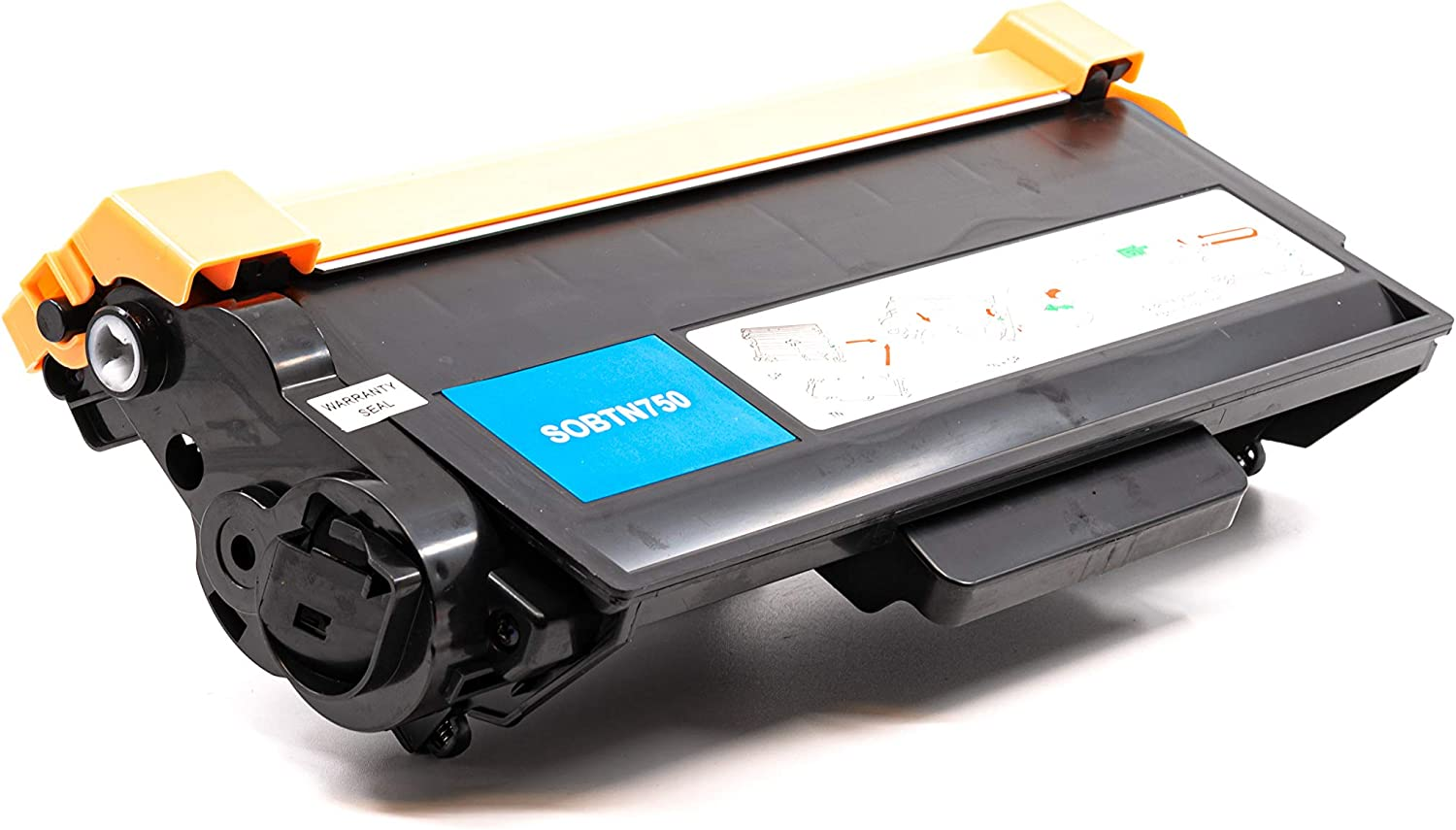 Black,5 Pack TN-750 TN-720 SuppliesOutlet Compatible Toner Cartridge Replacement for Brother TN750 TN720